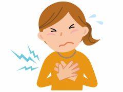狭心症の代表的な症状は胸部の痛み